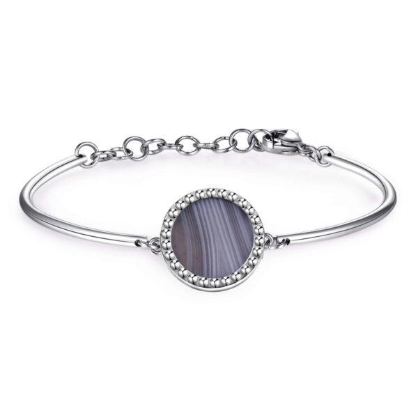 Bracelet CHAKRA Botswana agate