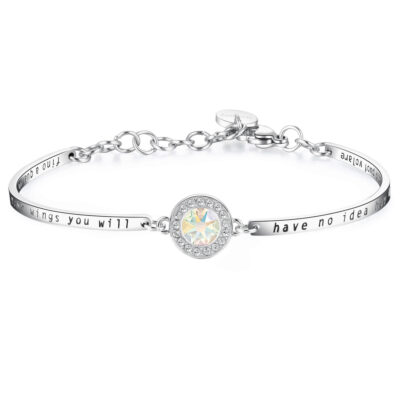 Bracelet CHAKRA – WHITE CRYSTAL