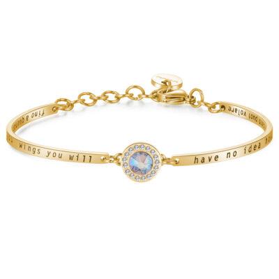 Bracelet CHAKRA – LIGHT TOPAZ CRYSTAL