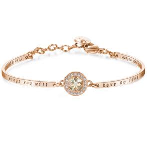 Bracelet CHAKRA – POWDER PINK CRYSTAL