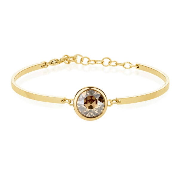 Bracelet CHAKRA Gold Crystal