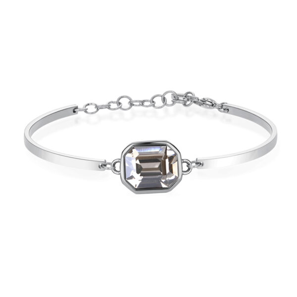 Bracelet CHAKRA Grey Crystal