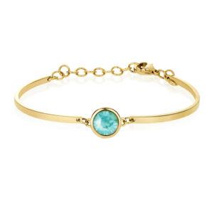 Bracelet CHAKRA Sea Green Crystal