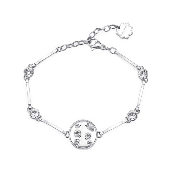 LETTER I: SENSITIVITY, PASSION, EXUBERANCEThose whose name starts with the letter 'I' are eclectic and very adaptable to different situations. Is are torn between heart and mind, they are extremely romantic, thoughtful, sensitive and exuberant.316L stainless steel bracelet with letter and crystal crystals.