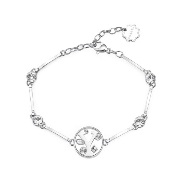 LETTER Y: CURIOSITY, SENSUALITY, LIBERTYThose whose name starts with the letter 'Y' are passionate and curious, sensual and dominant. Ys are free, independent individuals always looking for new stimuli.316L stainless steel bracelet with letter and crystal crystals.