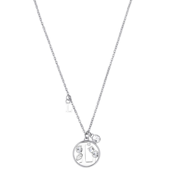 LETTER L: ABILITY, COMMUNICATION, LIBERTYThose whose name starts with the letter 'L' have great literary skills. Ls love communicating with others and expressing all their feelings. They don't like taking orders from anyone, hate restrictions and want to feel free.316L stainless steel necklace with letter and crystal crystals.