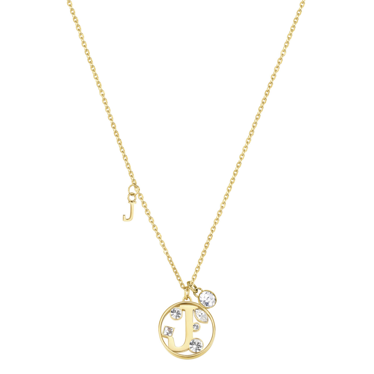 LETTER J: AMBITION, WILLPOWER, SUCCESSThose whose name starts with the letter 'J' will have a very fulfilling life. Js are eager to win, succeed in what they do and often get rewards and make progress at work. They have extraordinary willpower and sense of initiative.316L stainless steel necklace and gold finishes with letter and crystal crystals.