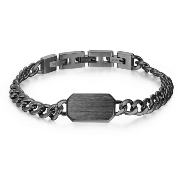 316L stainless steel bracelet and gun finishes.