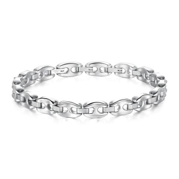 316L stainless steel bracelet.