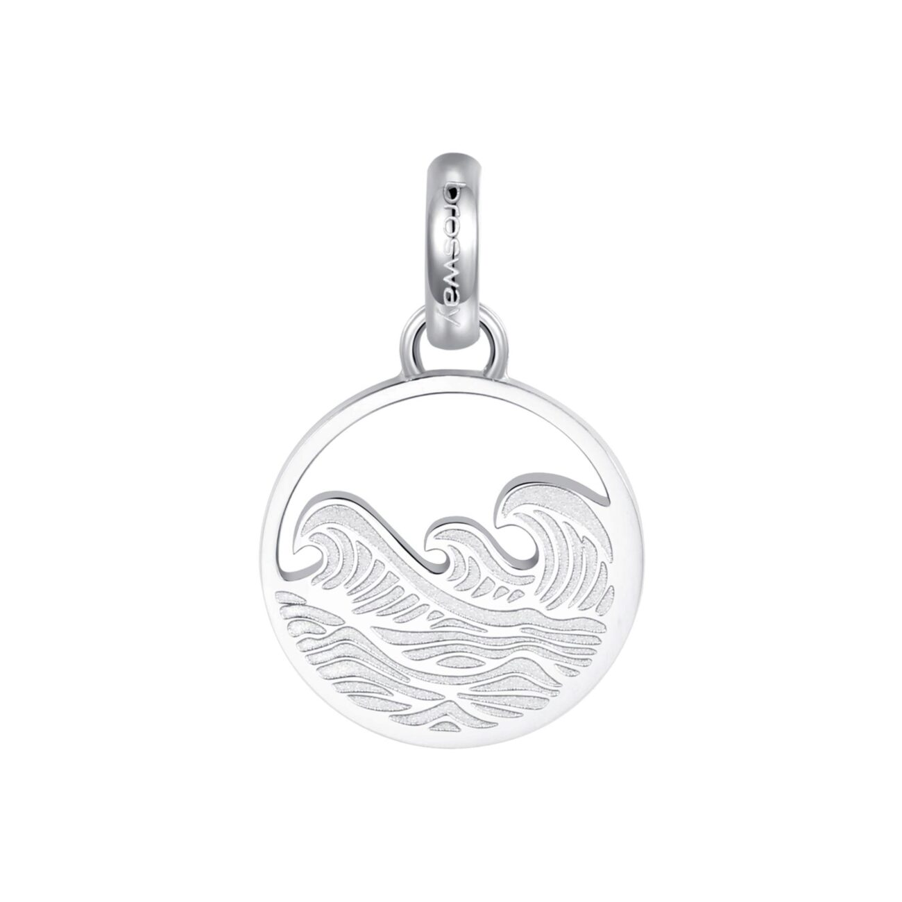 ENGRAVING: Sea Lover (back)316L stainless steel beads with sea and engraving.