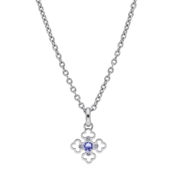 316L stainless steel necklace and Swarovski©crystal