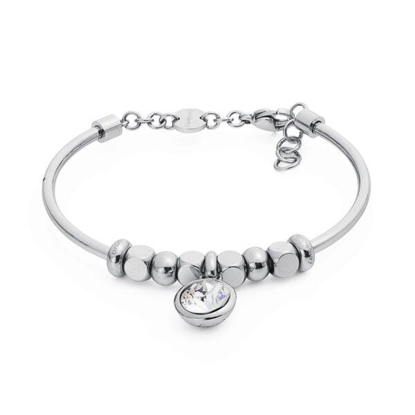 316L stainless steel composable bracelet and crystal Swarovski® crystal.
