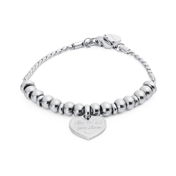 316L stainless steel composable bracelet.