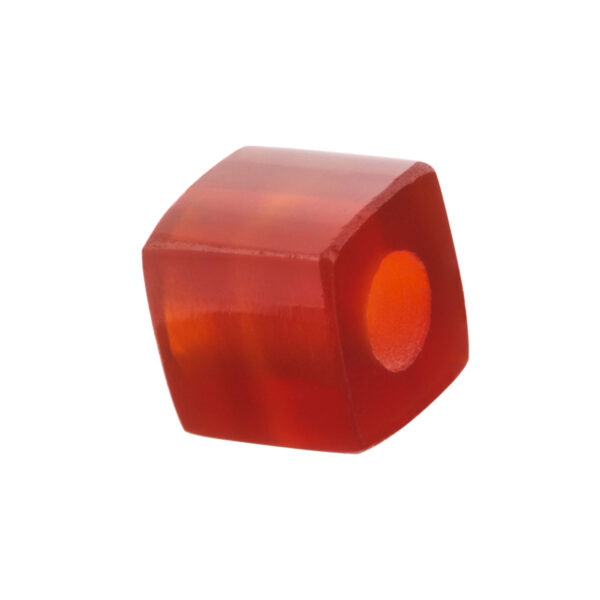 red agathe beads