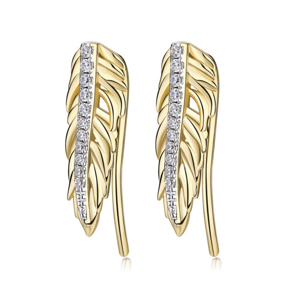 Earrings PLUME