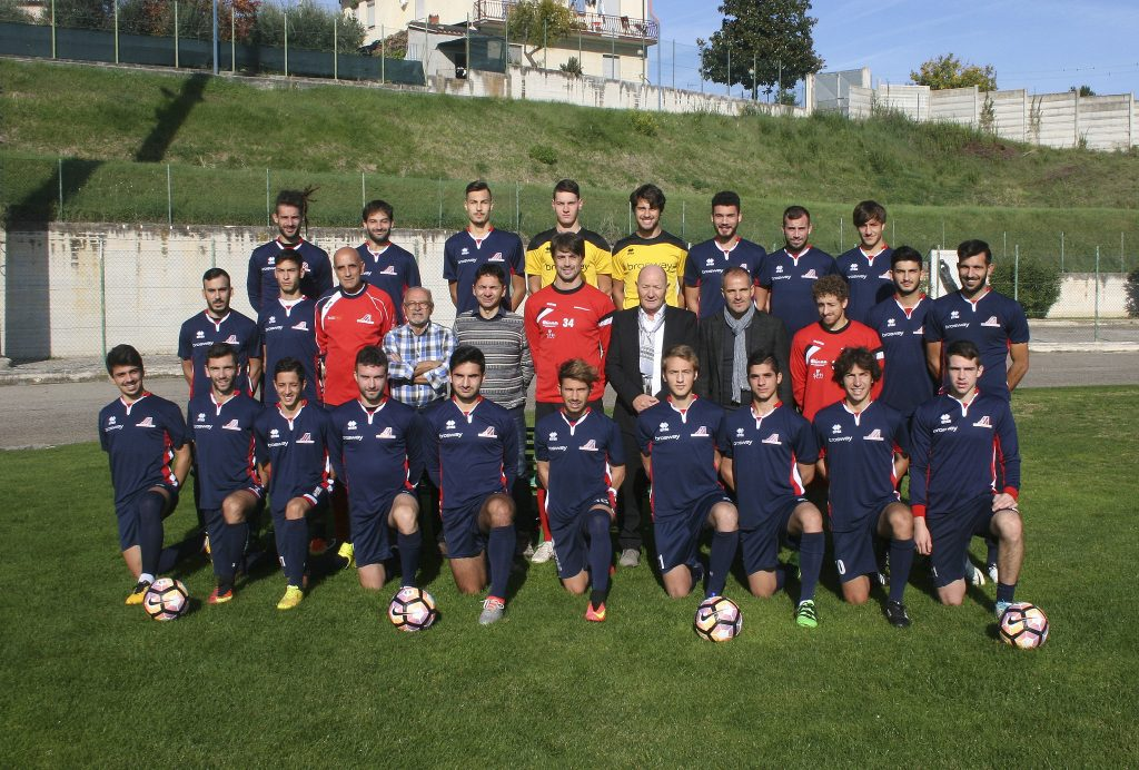 BROSWAY SUPPORTS THE A.S.D. MONTEGIORGIO CALCIO FOOTBALL TEAM