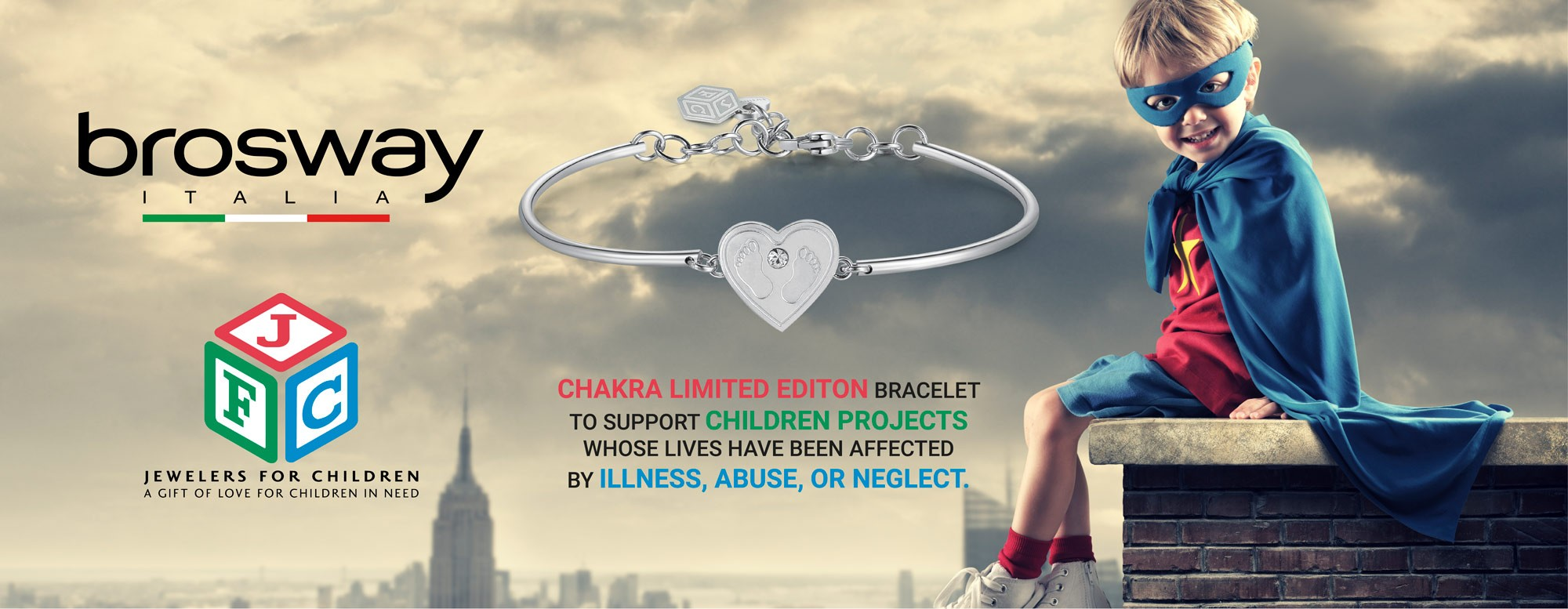promo bracelet charity jewelers for children