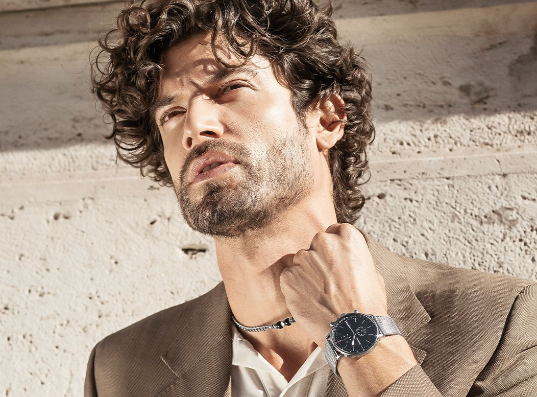 man with brosway watch