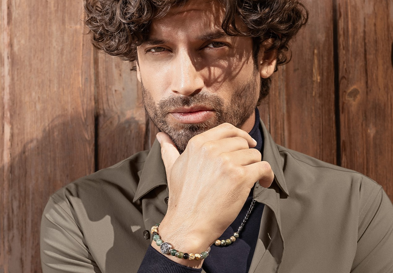 man with brosway jewels