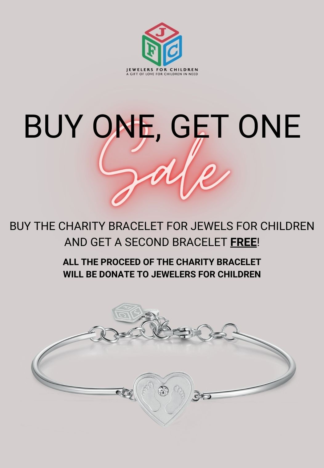 banner charity promotion