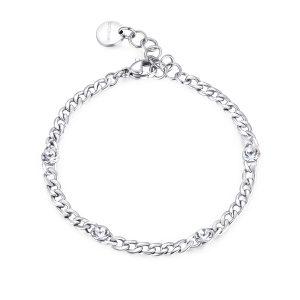 silver groumette bracelet