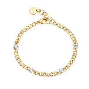 gold groumette bracelet